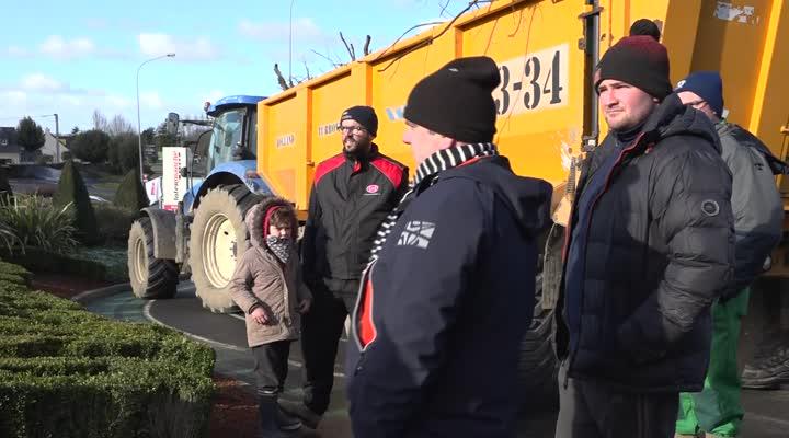 Thumbnail Nouvelle mobilisation des agriculteurs en Bretagne