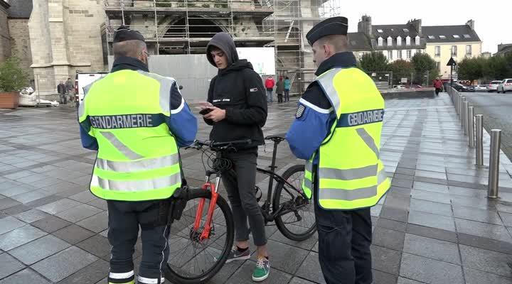 Thumbnail Opération de prévention et contrôle auprès des cyclistes
