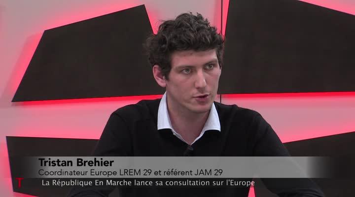 Thumbnail LREM : le mouvement lance sa grande marche pour l'Europe
