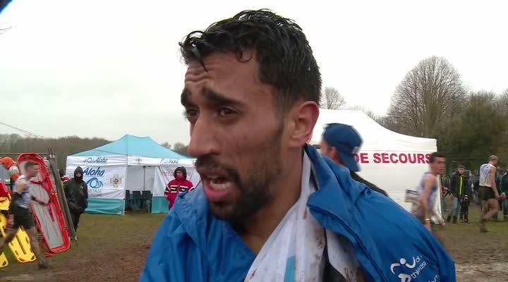 Thumbnail Championnat de France de cross à Plouay (long) : Morhad Amdouni,