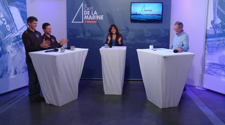 Thumbnail Café de la Marine avec Thomas Rouxel et Sébastien Josse