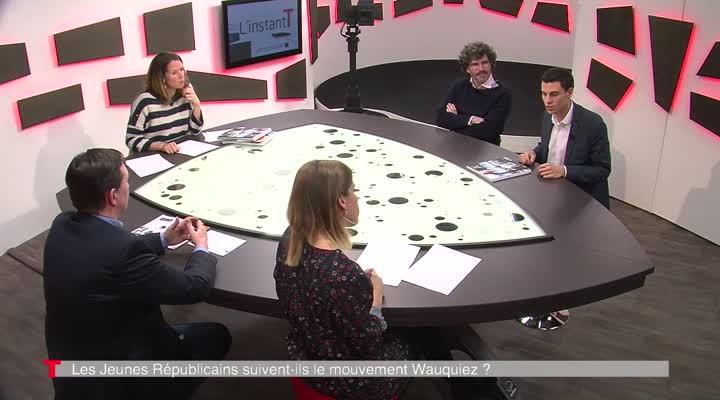 Thumbnail Victor Macq, responsable des jeunes LR du Finistère réagit à l'élection de Laurent Wauquiez