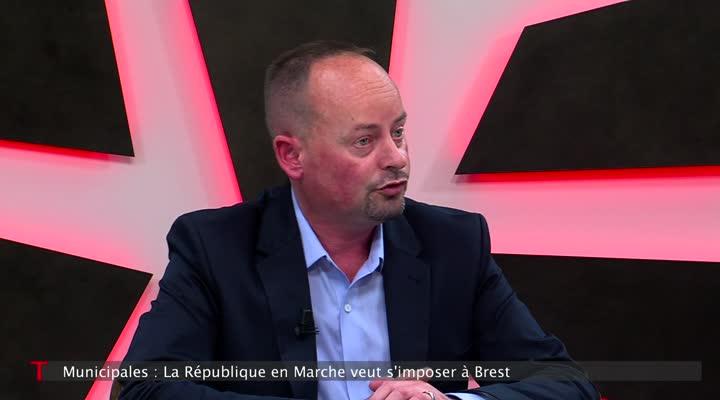 Thumbnail Municipales : Marc Coatanéa, LREM veut s'imposer à Brest
