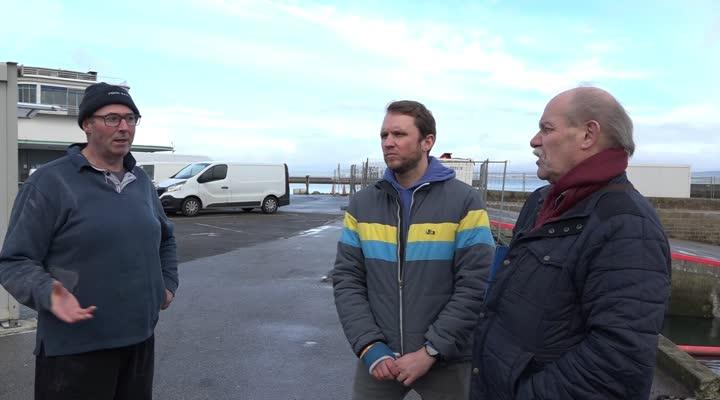 Thumbnail Douarnenez : le port du Rosmeur interdit au public