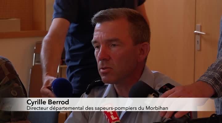 Thumbnail Reportage : Un avion de chasse belge s'écrase à Pluvigner