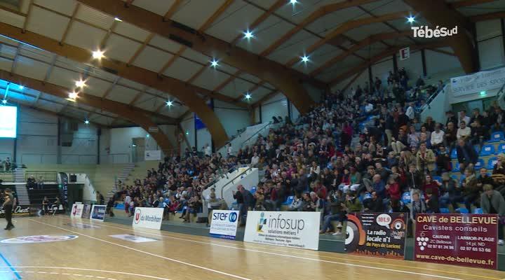 Thumbnail NM1 : le Cep Lorient Basket-ball étouffe Souffelweyersheim