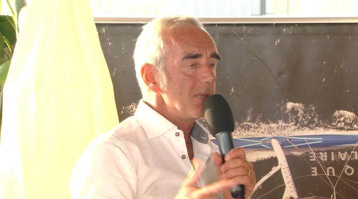 Thumbnail Le Café de la Marine du Télégramme avec Loick Peyron