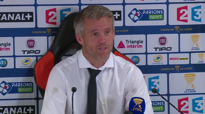 Thumbnail Coupe de la Ligue : Lorient maîtrise Lens 3-2. L'analyse de M. Landreau