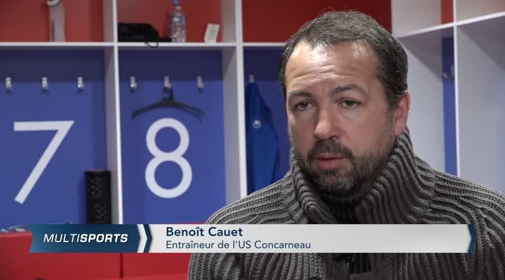Thumbnail Football. US Concarneau, l'après Nicolas Cloarec