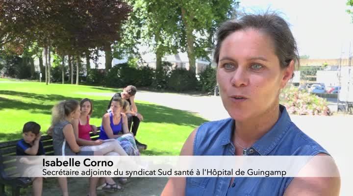 Thumbnail Maternité de Guingamp : la mobilisation continue
