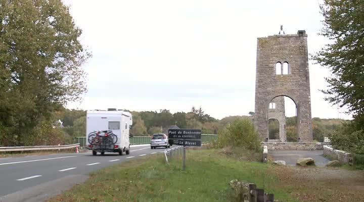 Thumbnail Un projet de pont piétonnier et cyclable entre Lanester et Kervignac