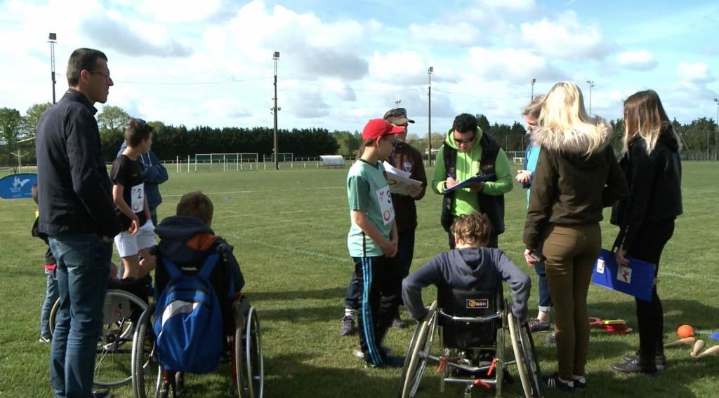 Thumbnail Handisport : Grand prix régional des jeunes