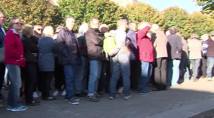 Thumbnail Manifestation anti-migrants à Trégunc dans le Finistère