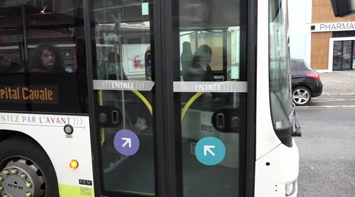 Thumbnail Les bus évitent le quartier de Kerangoff à Brest