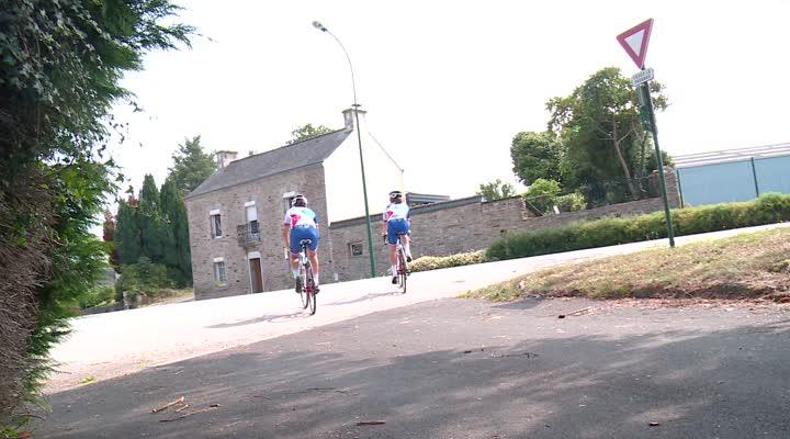 Thumbnail La cycliste Coralie Demay, quintuple championne de France sur piste, désignée sportive bretonne 2017