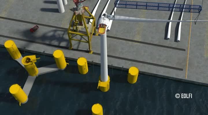 Thumbnail Eoliennes flottantes : entre énergie et environnement