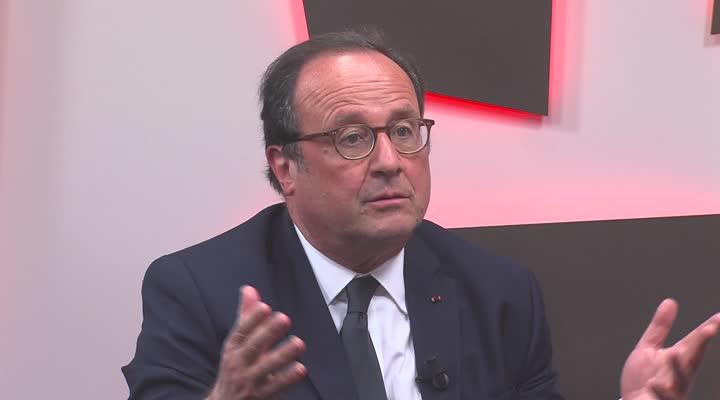 Thumbnail Dédicaces à Plérin : François Hollande répond à la polémique