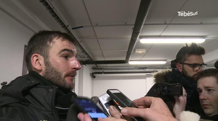 Thumbnail Lorient-Guingamp - Y avait-il carton rouge ? Waris s'en défend, Kerbrate s'étonne.