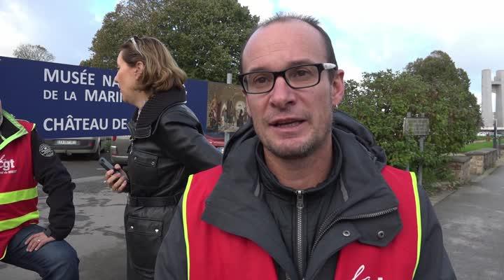 Thumbnail Naval Group : 400 personnes en grève