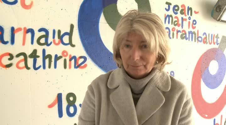 Thumbnail Vannes : des tags antisémites à l'encontre de Christine Angot