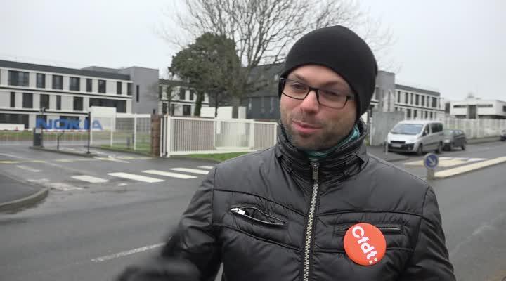 Thumbnail Nokia à Lannion : 54 postes supprimés