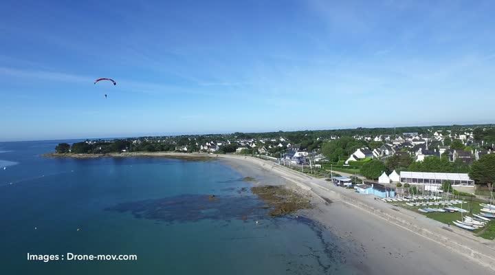 Thumbnail Vol au dessus du littoral de Bretagne - Finistère