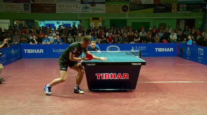 Thumbnail Finale aller ETTU Cup match 3 / Cédric Nuytinck 3-1 Patrick Franziska