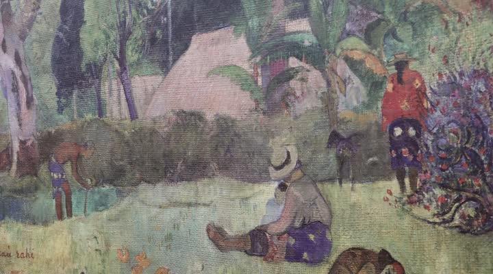 Thumbnail Gauguin s'expose dans les rues du Quessoy