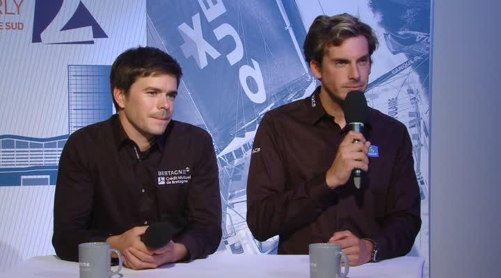 Thumbnail Café de la Marine avec Sébastien Simon et Charlie Dalin