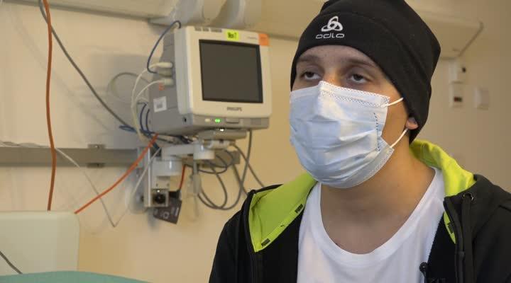 Thumbnail Le cartable connecté permet de suivre l'école à l'hôpital