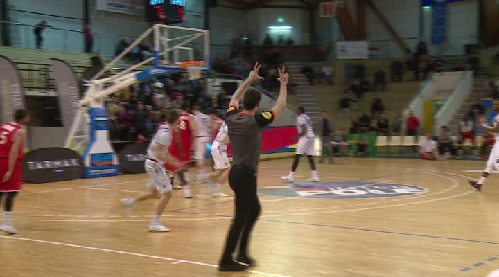 Thumbnail (NM1) Cep Lorient 74 - 71 Sorgues : les lorientais enchaînent à domicile