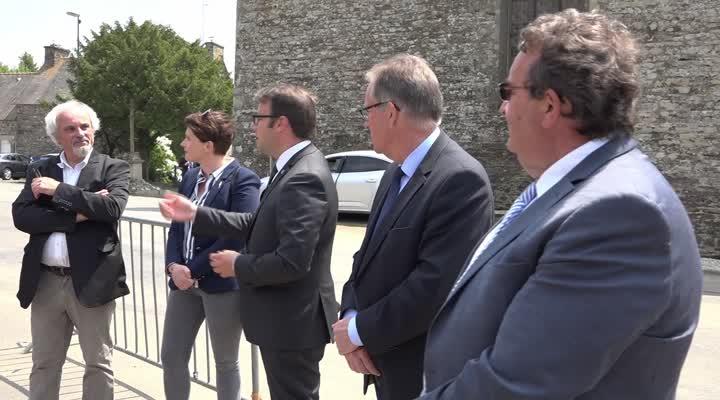 Thumbnail Saint-Connec : 1ère commune 100% fibrée en Bretagne
