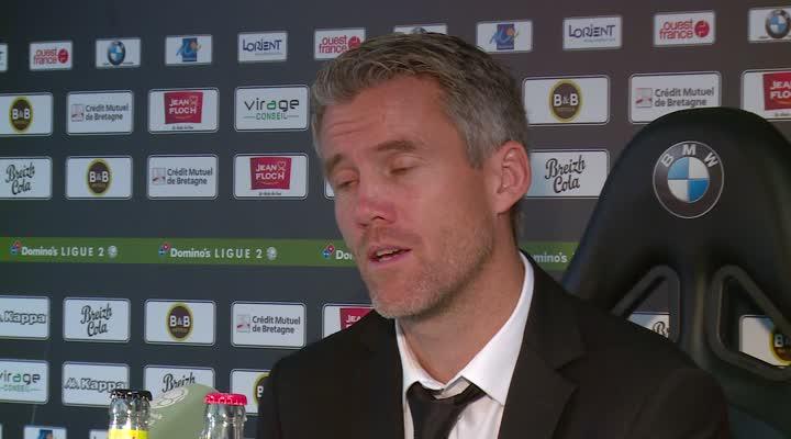 Thumbnail Lorient 2-0 Tours  : l'analyse de Mickaël Landreau