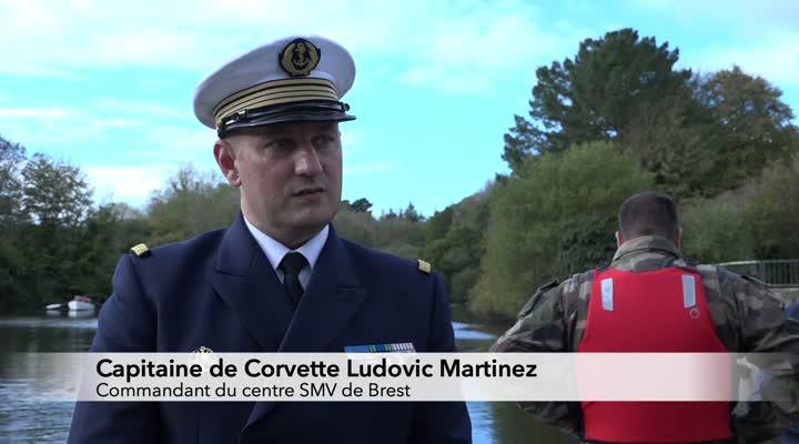 Thumbnail Visite du centre de service militaire volontaire de Brest