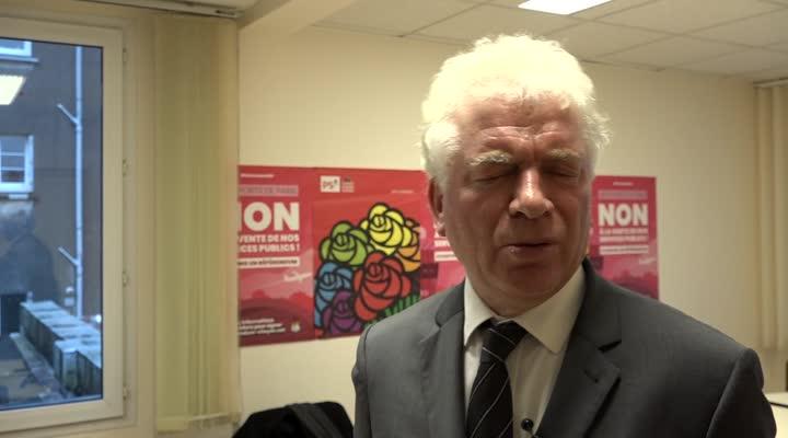 Thumbnail François Cuillandre maintient sa candidature à la mairie de Brest