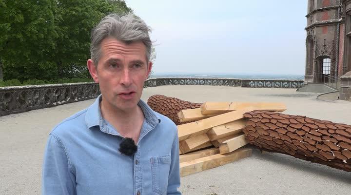 Thumbnail Trévarez : Marc Didou et ses sculptures monumentales au domaine