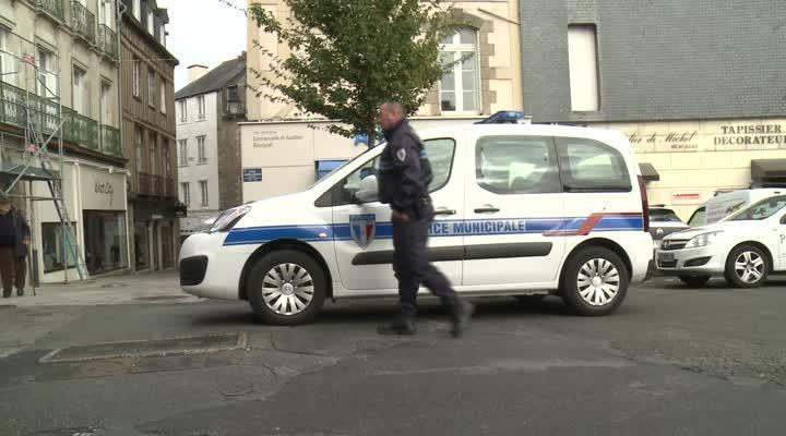 Thumbnail Lorient équipe sa police municipale de taser