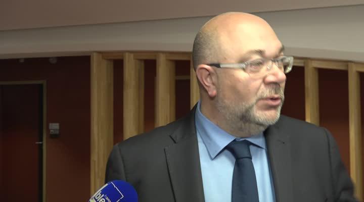 Thumbnail Stéphane Travert, le Ministre de la pêche invite les professionnels de la filière pêche à renouveler leur flottille