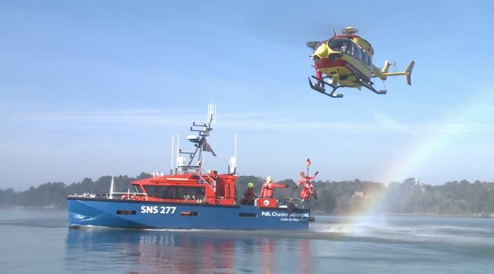 Thumbnail SNSM : ce samedi, un exercice exceptionnel dans le Golfe du Morbihan
