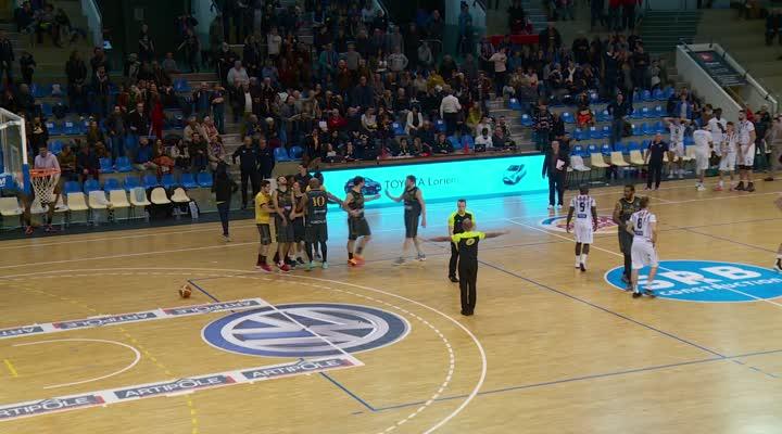 Thumbnail (NM1) Cep Lorient Basket - JSA Bordeaux Métropole Basket (65-67) : une défaite au buzzer