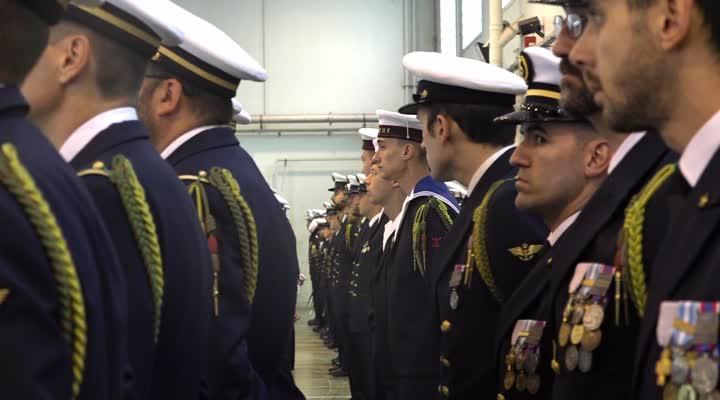 Thumbnail Le centenaire de la flottille 11 F à Landivisiau : survol des rafales